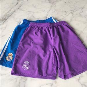 ⭐️Authentic Real Madrid Adidas Shorts⭐️
